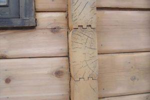 Blockhaus Restaurierung nachher